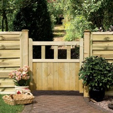 Grange 3ft High (915mm) Grange Solid Infill Path Gate - Pressure Treated