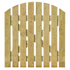 Grange 3ft (1050mm) High Grange Domed, Ledged & Braced Path Gate - Pressure Treated