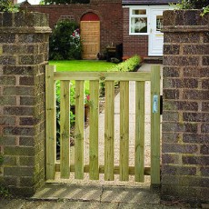 3ft High (900mm) Grange Pale Gate - Pressure Treated