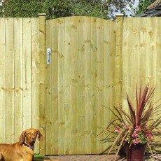 6ft High (1800mm) Grange Tongue & Groove Ledged & Braced Gate - Pressure Treated