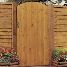 6ft High (1850mm) Grange Side Entry Arch Gate