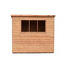 Shire 10 x 8 (2.99m x 2.39m) Shire Caldey Professional Pent Shed
