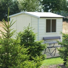7 x 5 (2.09m x 1.49m) Shire Lewis Professional Apex Shed