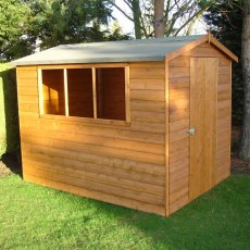 8 x 6 (2.39m x 1.79m) Goodwood Lewis Professional Apex Shed