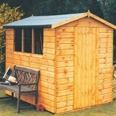 10 x 6 (2.99m x 1.79m) Shire Lewis Professional Apex Shed