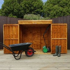 Mower Storage