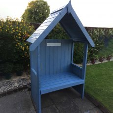Shire Hebe Arbour - painted blue