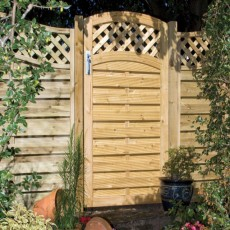 6ft High (1800mm) Grange Elite St Meloir Gate - Pressure Treated