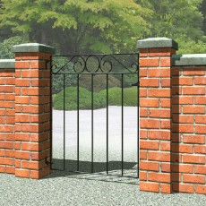3 x 3 (850mm x 770mm) Metpost Ironbridge Small Gate