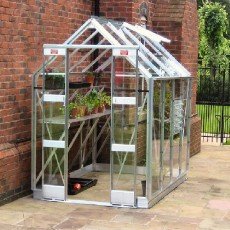 5'3' (1.59m) Wide Elite Streamline Aluminium Greenhouse Range
