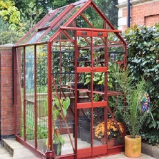 5'3' (1.59m) Wide Elite Streamline Colour Greenhouse Range