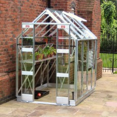 5'3' (1.59m) Wide Elite Streamline Aluminium Greenhouse PACKAGE Range