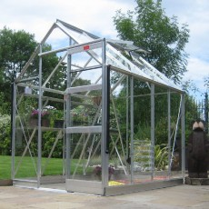 6'3' (1.90m) Wide Elite High Eave Aluminium Greenhouse Range