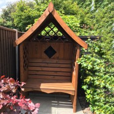 Shire Rose Arbour - Customer Painted - Brown
