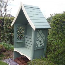 Shire Rose Arbour - Customer Painted - Mint Green