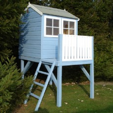 4 x 6 (1.20m x 1.83m) Shire Bunny Tower Playhouse