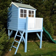 Shire 4 x 6 (1.20m x 1.83m) Shire Bunny Tower Playhouse