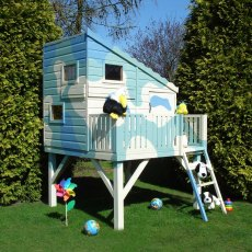 6 x 6 (1.80m x 1.80m)  Shire Command Post Tower Playhouse