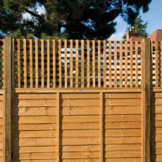 2ft High (610mm) Grange Badminton Square Garden Trellis