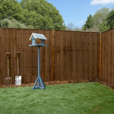 Mercia 6ft High (1829mm) Mercia Closeboard Vertical Hit and Miss Fence Panels - Pressure Treated