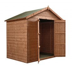 Mercia 5 x 7 (1.54m x 2.22m) Mercia Shiplap Windowless Shed with Double Doors