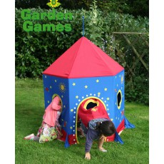 Garden Games Rocket Play Tent