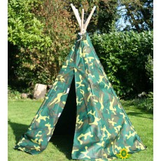 Garden Games Camouflage Play Tent