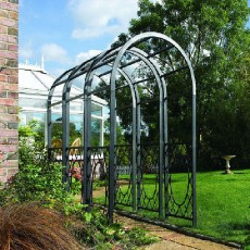 Rowlinson Garden Products Wrenbury Round Top Arch