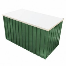 4 x 2 (1280mm x 680mm) Emerald Cushion Box - Green