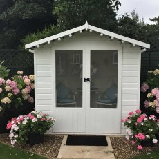 Shire Avance Summerhouse - Customer image painted in white
