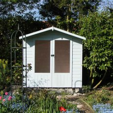 Shire Avance Summerhouse - Painted in white