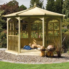 Grange Regis Gazebo with Side Panels (Dressed B)