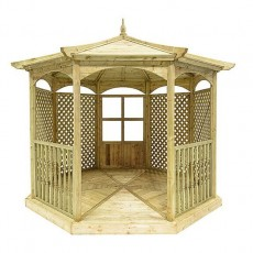 Grange Grange Regis Gazebo with Side Panels (Dressed C)