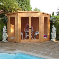8 x 8  (2.25m x 2.25m) Shire Barclay Corner Summerhouse