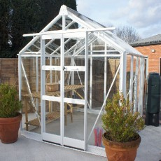 "8'5"" (2.54m) Wide Elite Titan 800 Aluminium Greenhouse Range"