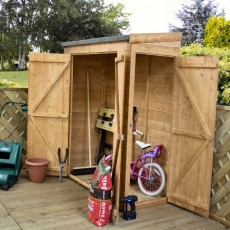 Mercia 6 x 3 (1.81m x 0.79m) Mercia Shiplap Pent Store with Side Door