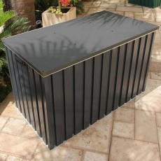 4 x 2 (1280mm x 680mm) Sapphire Cushion Box - Anthracite