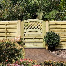 3ft High (985mm) Grange Elite St Meloir Gate - Pressure Treated