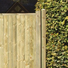 6 x 10 (1.80m x 3.0m) Grange Fortress Tall Driveway Gate - Pressure Treated