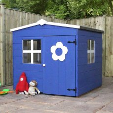 4 x 4 (1.30m x 1.20m) Mercia Bluebell Playhouse