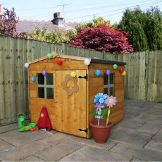 Mercia 4 x 4 (1.30m x 1.20m) Mercia Bluebell Playhouse