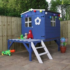 4 x 4 (1.30m x 1.20m) Mercia Bluebell Tower Playhouse