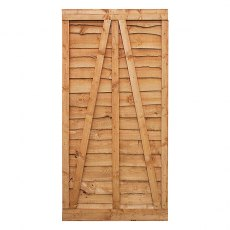 Mercia 6ft High (1829mm) Mercia Waney Edge (Lap) Gate
