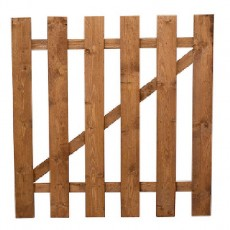 3ft High (915mm) Mercia Flat Top Palisade Gate