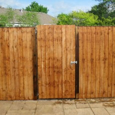 5ft High (1508mm) Mercia Vertical Feather Edge Gate
