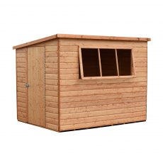 Shire 12 x 8 (3.59m x 2.39m) Shire Caldey Professional Pent Shed