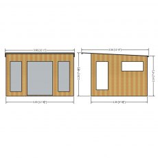 Shire The Miami Summerhouse - specification