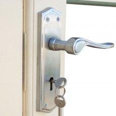 11 x 10 Shire Berryfield Log Cabin - Interior