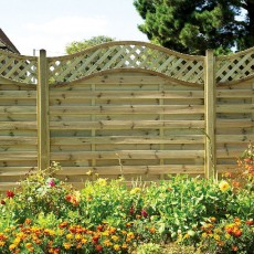 6ft High (1800mm) Grange Elite St Meloir Pressure Treated Fencing Packs