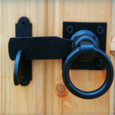 7 x 7 Shire Buckingham Summerhouse - Pressure Treated - door latch